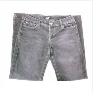WHBM Womens Jeans Blanc Love Life Boot Cut Sz 6S